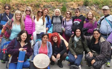 מסע מספר 4- יולי 2015 קבוצת האין סוף