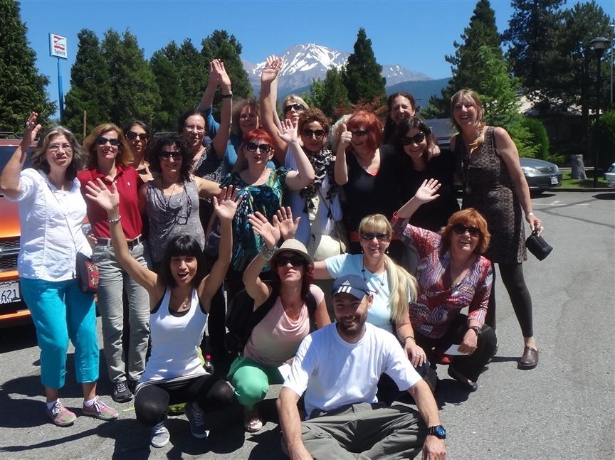 מסע מספר 1- יולי 2012 קבוצת המאסטריות