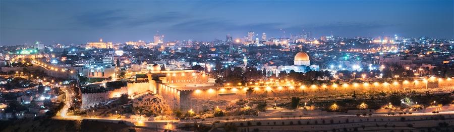 ירושלים העתיקה בלילה