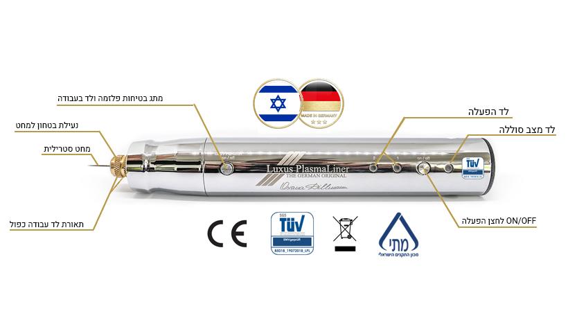 באישור מכון התקנים הישראלי והאירופאי