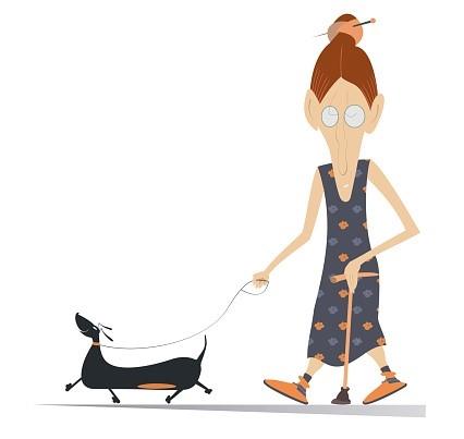האישה עם הכלב - איה הופמן יב3 (מתוך ביכורי יצירה)