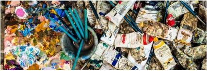 אממות פלסטית ציור