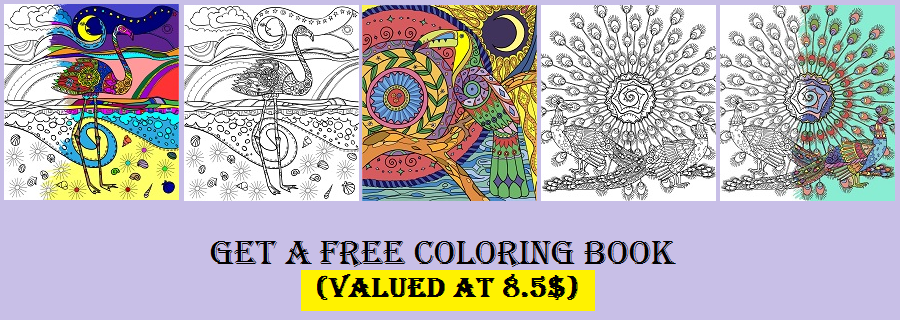 Get a FREE Birds Coloring Book